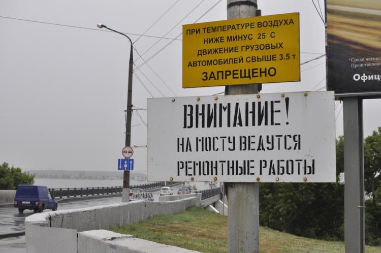 схема движения по мосту